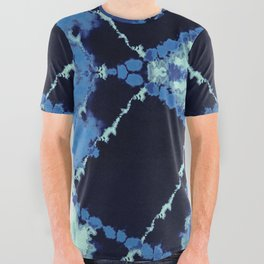 Tribal Tie-Dye All Over Graphic Tee