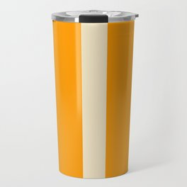 Orange and Stripes - The University of Tennessee  Travel Mug
