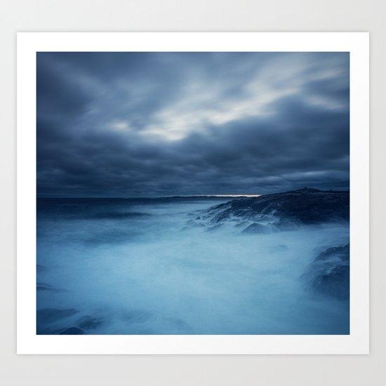 Heaving Seas Art Print