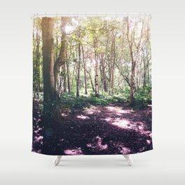 Forest Glare Shower Curtain