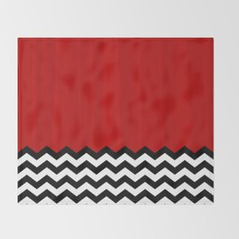 Twin Peaks - The Red Room Throw Blanket