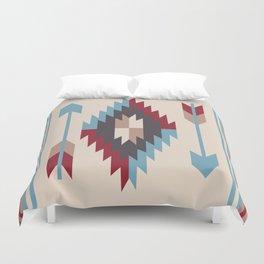 American Native Pattern No. 12 Duvet Cover
