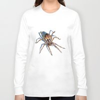 spider Long Sleeve T-shirts featuring Spider by BigRedSharks