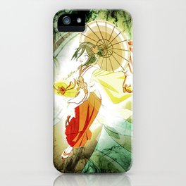 Hanabi Hyuga 2 iPhone Case