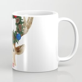 Hyuää joulua - finnish merry christmas deer Coffee Mug