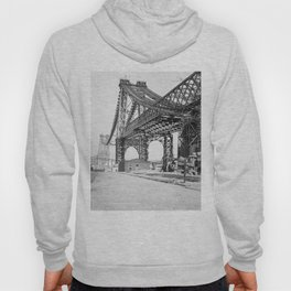 Vintage Photograph of the Williamsburg Bridge Hoody
