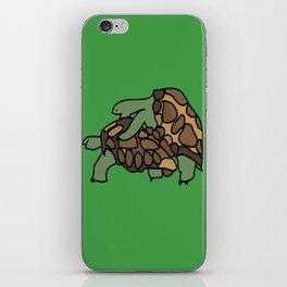 Turtle Galapagos mate love mating  iPhone Skin