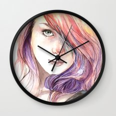Lass Wall Clock