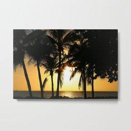 Vacation Sunset Metal Print