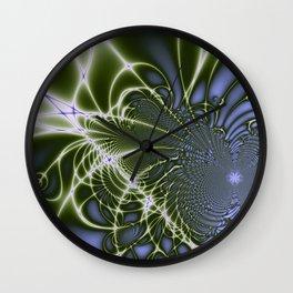 Fractal Abstract 68 Wall Clock