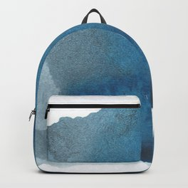 Available: dark abstract blue painting Backpack
