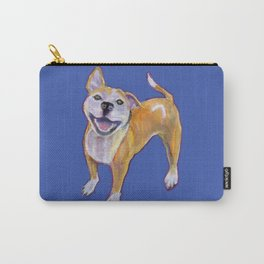 Happiness is my pitbull Carry-All Pouch