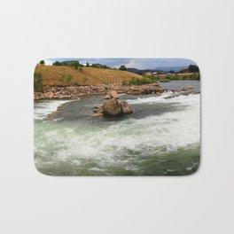Kayak Practice Rapids in Durango Bath Mat