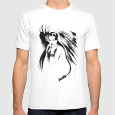 Nude Mens Fitted Tee MEDIUM White