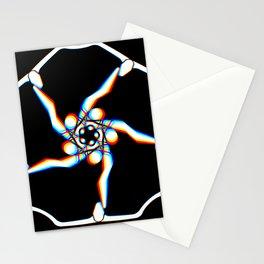 Pansy - Black Stationery Cards