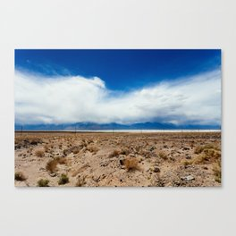 The Calm in Death Valley Canvas Print