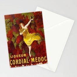 Vintage poster - Liqueur Cordial-Medoc Stationery Cards