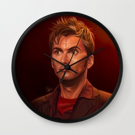 Last of the Time Lords - Doctor Who Wall Clock