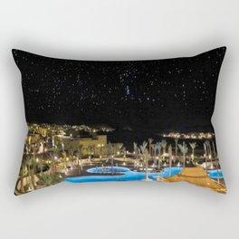 Qasr Al Sarab Desert Resort in Abu Dhabi 2 Rectangular Pillow