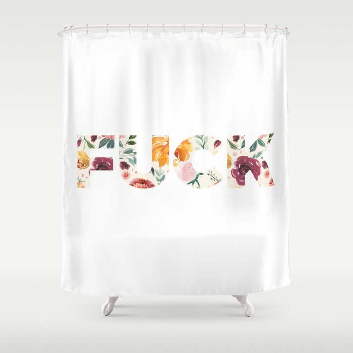 Shower curtain fuck