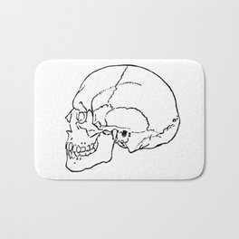 Skull 1 Bath Mat