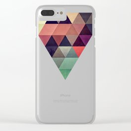 tryypyzoyd Clear iPhone Case