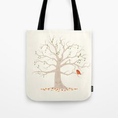 A Little Song Tote Bag