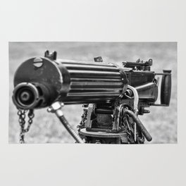 Vickers Machine Gun Rug