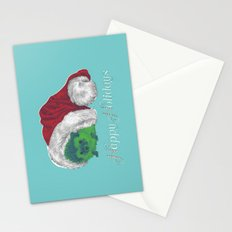 Happy Holiday Hedgehog by Chrissy Curtin Stationery Cards