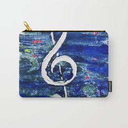 G clef or the sun key Carry-All Pouch