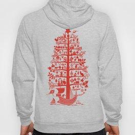 CHRISTMAS TREE red ITINERANT Hoody