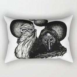 Rey & Kylo Rectangular Pillow