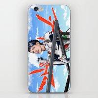 neon genesis evangelion iPhone & iPod Skins featuring Evangelion Rei Hathaway by Akyanyme