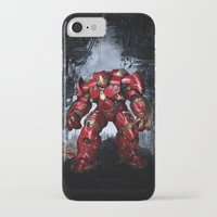 iron man iPhone & iPod Cases featuring IRON MAN iron man by alifart