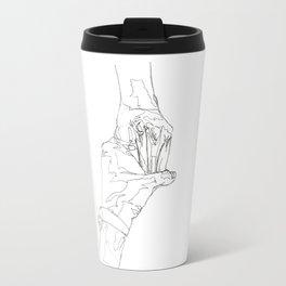 Line XV (hands [perspective]) Travel Mug