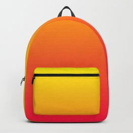 Yellow and Pink Gradient Backpack