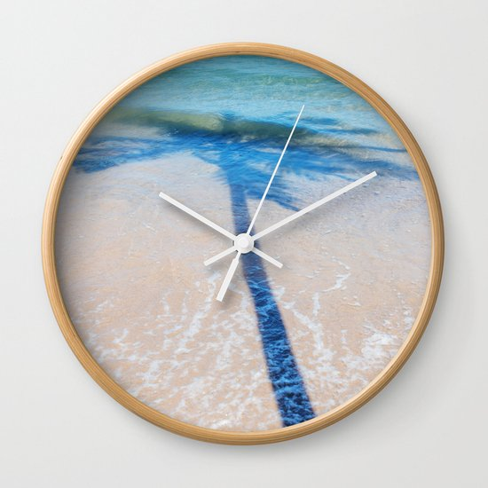 TREE IN SEA Wall Clock