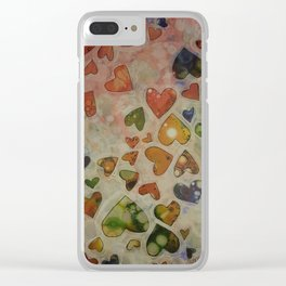 Be Mine! Clear iPhone Case