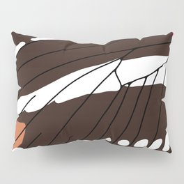 Butterfly Wing - Zebra Longwing Pillow Sham