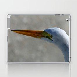 Egret Portrait Laptop & iPad Skin