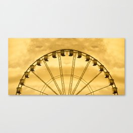 Carnival Cryptography Canvas Print