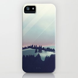 Castle in the Mountains iPhone Case