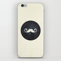 moustache iPhone & iPod Skins featuring moustache by StudioAmpersand