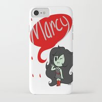marceline iPhone & iPod Cases featuring Marceline by dartty