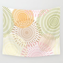 Flower Vibes Wall Tapestry