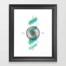 B.G Geo Framed Art Print