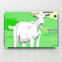 goat iPad Cases featuring Goat by wingnang