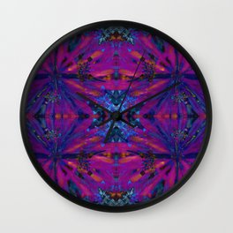 Hopi dream geometry Wall Clock