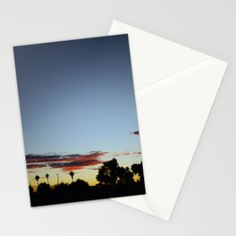 Sunset In The Park Stationery Cards
