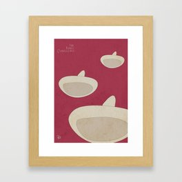"DISNEY's ""The Three Caballeros"" - Minimal Movie Poster Framed Art Print"